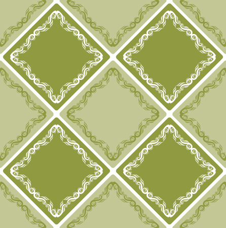Seamless abstract floral pattern, mandala pattern