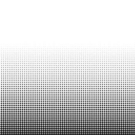 동그라미 흑인과 백인 하프 톤 도트 질감 배경 추상 패턴 및 그래픽 디자인.
