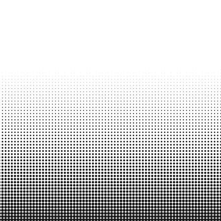 De textuurachtergrond van cirkel zwart-witte halftone punten voor abstract patroon en grafisch ontwerp.