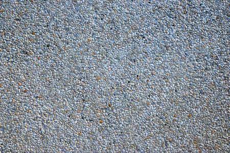 Pebbles pathway pattern in concrete, Background of floor tiles.