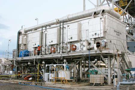 desalination: A desalination plant
