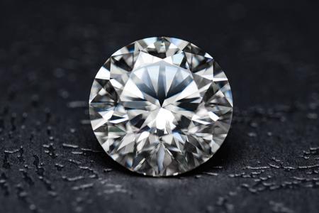 The large diamond close up Standard-Bild