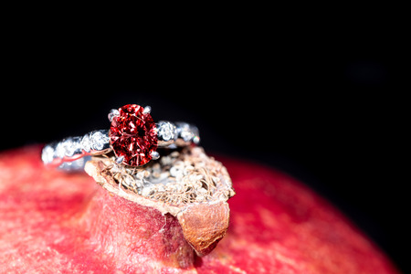 Ruby Jewelry Ring