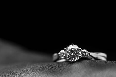 Three Stone Diamonds Ring