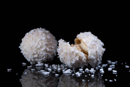 Candy With Coconut Topping 版權商用圖片
