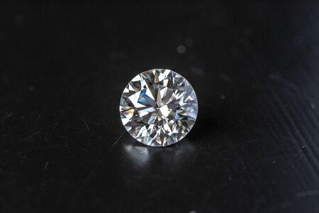 Diamond Round Shape Stock fotó