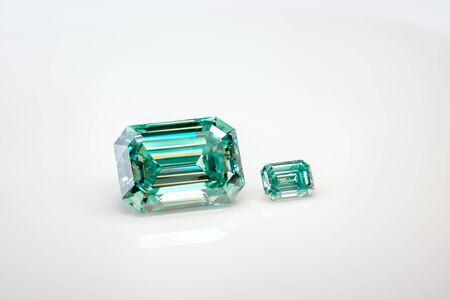 Big and Small Emerald Diamonds
