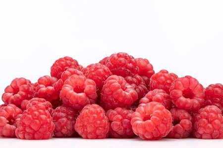 Raspberry on White Background Standard-Bild