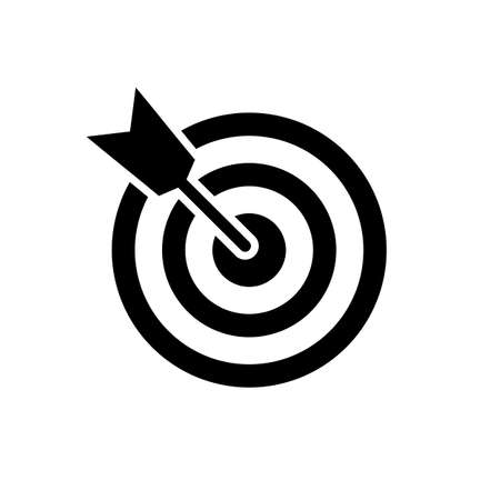 Target icon. Target vector icon Ilustração Vetorial