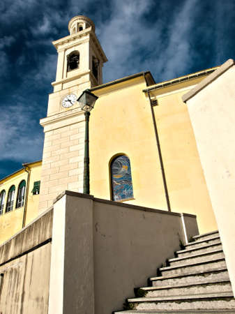 the church of S  Anthony of Padua Boccadasse in Genoa  Stock Photo - 12505504