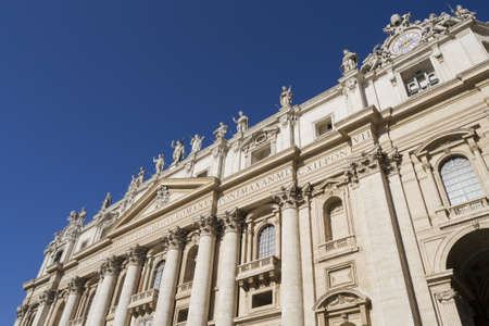 st peter s basilica: St  Peter s Basilica Stock Photo