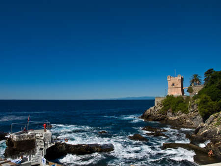 the Ligurian coast photo