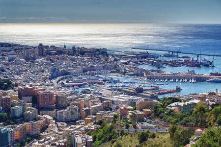 Hafen von Genua Landschaft
