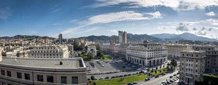 genoa: Victory Square, Genoa, Italy