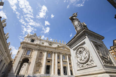 st  peter s  basilica: St  Peter s Basilica Stock Photo