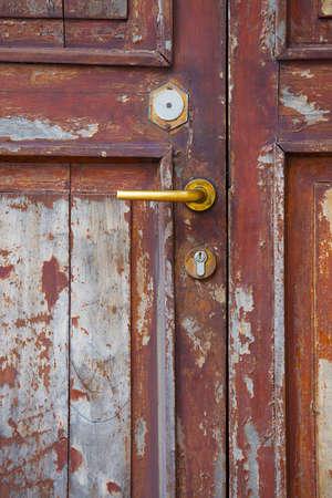 woden: old woden door