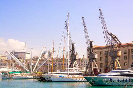 genoa: ancient port of Genoa