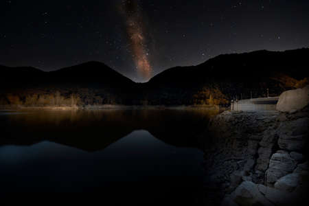 Milky Way from Lake valnoci