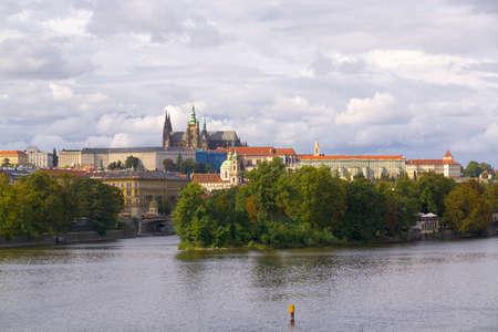 Moldovan river run to Prague Stock fotó
