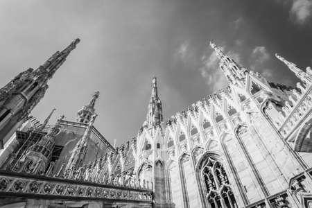 Milan Cathedral (Duomo di Milano), Italy, Europe Stock Photo