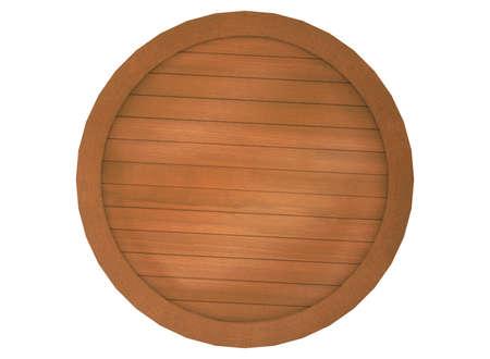 wooden plaque: 3d illustration of wooden plaque sign.