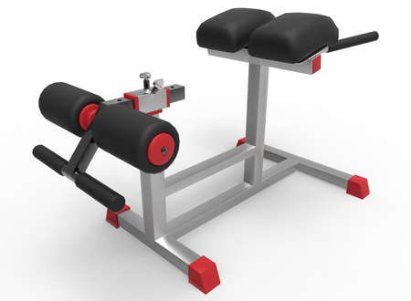 the attribute: 3d illustration of sport tool in gym. white background isolated. rube and steel. icon for game web. sport attribute.