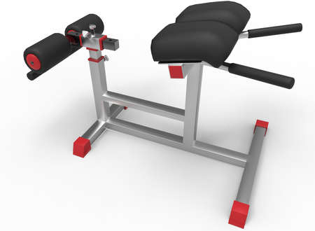 steel icon: 3d illustration of sport tool in gym. white background isolated. rube and steel. icon for game web. sport attribute.