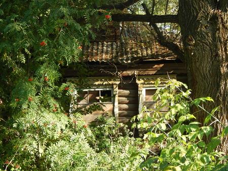 Old abandoned house photo