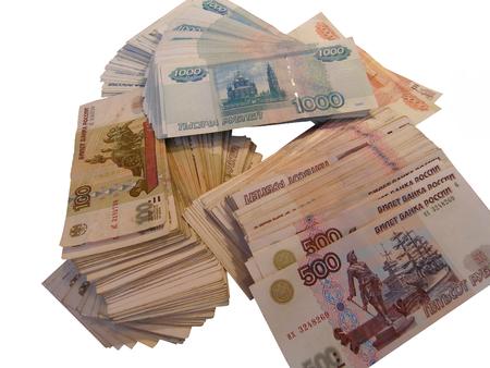mucho dinero: un montón de dinero  Foto de archivo