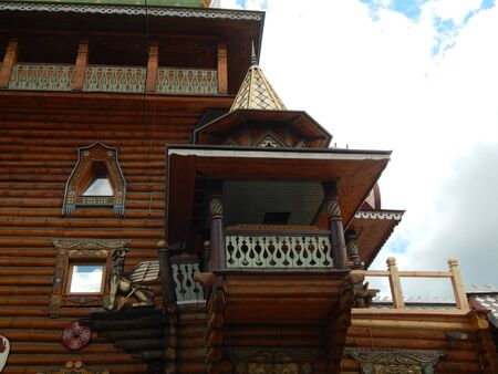 17th: Wooden balcony of the 17th century