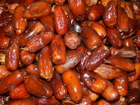 deglet: dried figs Stock Photo