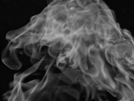 dynamic heat black: Texture smoke black background