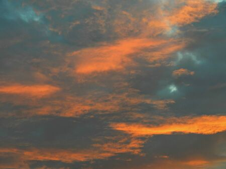 pink sunset: Beautiful pink sunset in the sky