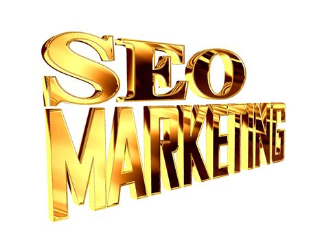 extensive: Golden extensive seo marketing text on a white background