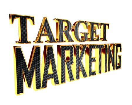 extensive: Golden extensive target marketing text on a white background Stock Photo
