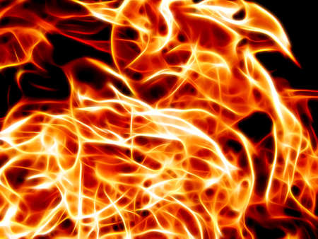 The texture of fire in neon lines closeup