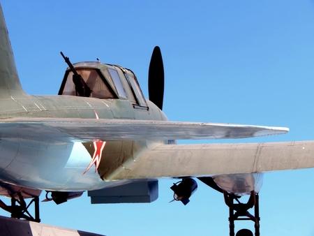seconda guerra mondiale: Russia. Samara. 28 maggio 2016. Monument Fighter della seconda guerra mondiale