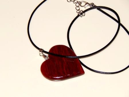 Handmade mahogany pendant pendant