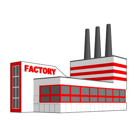 industrial buildings factory: Factory icon.