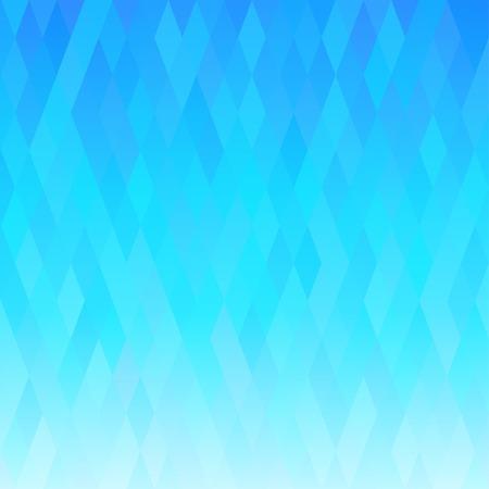 Resumen de fondo azul con el ornamento geométrico.