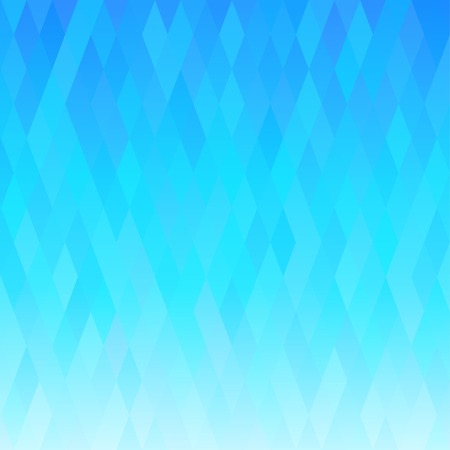Abstract blue background with geometric ornament.