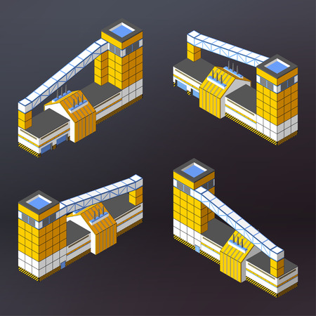 manufactory: Illustration of factory concept.