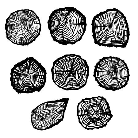 Old stump cuts