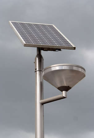 solarpower: Solar powered street light providing its own power