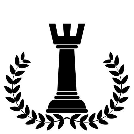 rivalry: coat of arms depicting a chess rook