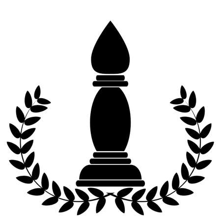 coat of arms depicting a Chess Bishop