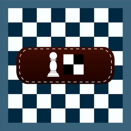 checker: popular checker chess square abstract background vector