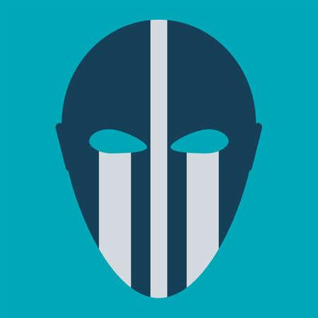 phantom: Phantom Carnival Mask Flat Icon