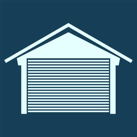 residential neighborhood: garage icon