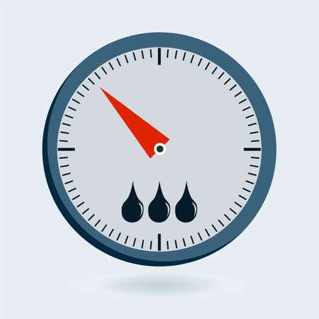 pressure gauge: Scales of Meter Devices - manometer, thermometer, sphygmomanometer, pressure gauge